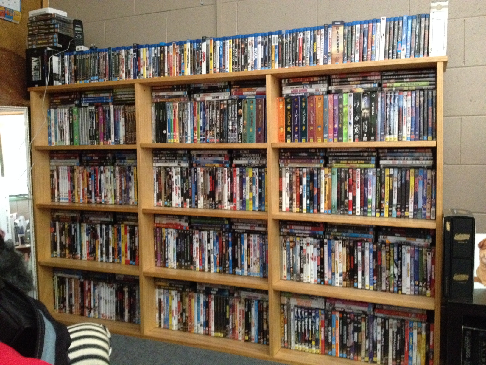 DVD Shelf